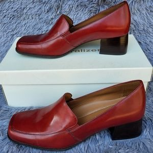 Naturalizer Lucinda Rouge Leather Loafers